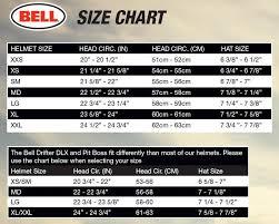 Bell 500 Helmet Size Chart Motorcycle Helmet Size Chart Bell Disrespect1st Com