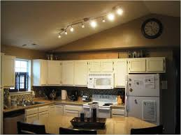 Kitchen Track Lights Kitchen Exquisite Kitchen Track Lighting In Modern Galley