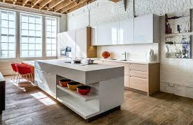 glossy cabinets white kitchen with brick accent wall glossy cabinets white kitchen with brick accent wall