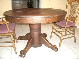 value of antique oak tiger claw dining table 5 years ago side antique tiger oak dining table