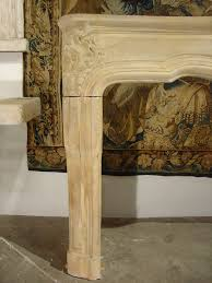 18th century carved stone fireplace mantel from lorraine france 2