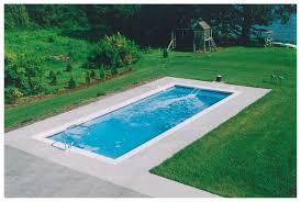 claremont medium fiberglass inground viking swimming pool