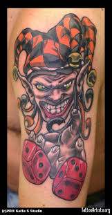Fabulous Joker Clown Tattoo Design In 2017 Real Photo Pictures