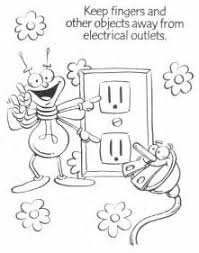 Electricity Colouring In Sheets Electricity Colouring Pages 3 The