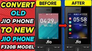 Jio Phone F320B HomeScreen