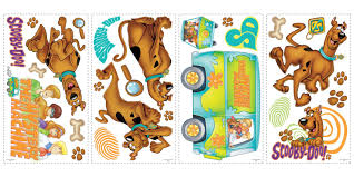 scooby doo removable decals scooby doo removable decals