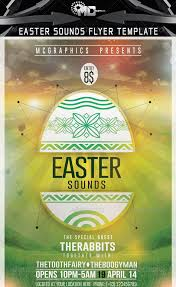 30 Awesome Easter Party Flyer Template | 30 Awesome Easter Party ...