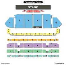 the fabulous fox theatre st louis seating chart