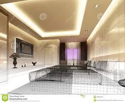 High Quality Modern Interior Design Bedroom Sketches And Sketch Design Of Interior  Bedroom Stock Images Image: 36948124
