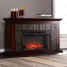 Ainslie Portable IndoorOutdoor Fireplace In Brown By Southern Southern Enterprises Fireplace
