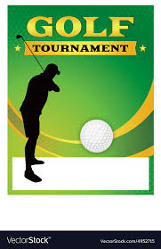 Golf Tournament Flyer Template Golf Tournament Flyer Template Vector Image