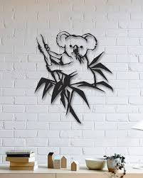 koala metal wall art gifts