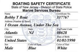 New Boat Course License Ed® Jersey Safety amp; Boating