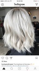 Explore Silver Hair Colors Blonde Hair