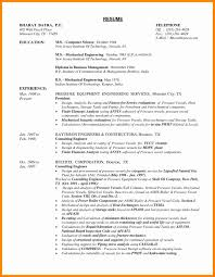 Mechanical Engineering Resume Templates Elegant 10 Mechanical