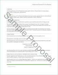 Sample Cleaning Proposal Letter Elegant Sample Contract For Catering
