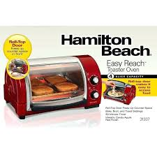 hamilton beach countertop oven with convection and rotisserie easy reach toaster oven with roll top door hamilton beach countertop oven with convection