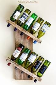 #Large Wine Rack # Rustic <b>Wine Rack</b> #<b>Solid Reclaimed</b> Wood ...