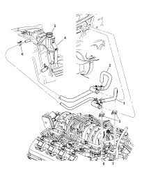 2006 chrysler 300 coolant recovery system heater plumbing diagram 00i98421
