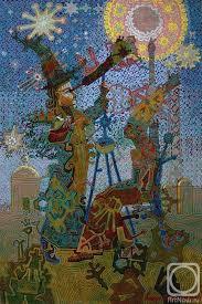 Звездочёт Дипломная работа вариант картины Картины художника  Акиндинов Алексей Звездочёт Дипломная работа вариант картины