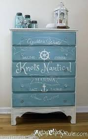 teal blue furniture. Coastal Themed Furniture This Lady Loves A Thrift Store  Dresser For The New Beach House Living Room Teal Blue Furniture