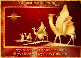 Free Christmas Greetings Religious Christmas Greeting Messages Miracle Of Christmas Free