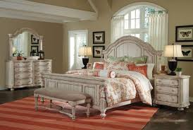 Collection in Distressed White Bedroom Furniture White Bedroom ...
