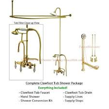 shower conversion kit for clawfoot tub. buy polished brass clawfoot tub shower faucet kit with enclosure curtain rod 17t2cts in cheap price on m.alibaba.com conversion for