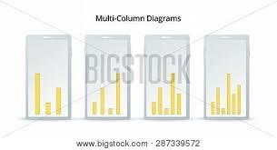 Business Column Chart Vector Photo Free Trial Bigstock
