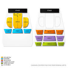 Cannon Center For The Performing Arts 2019 Seating Chart