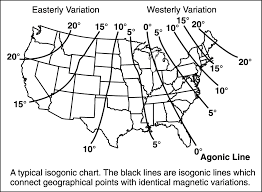 Magnetic Variation Sectional Chart Enroute Flight Magnetic Variation Learn To Fly Blog Asa