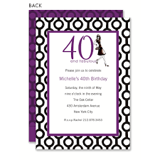 Birthday Invitation Pictures Mesmerizing 48 And Fabulous Birthday Invitations By Bonnie Marcus Co