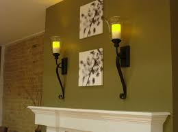 image of large candle wall sconces type