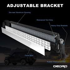 52 led light bar bracket wiring harness for jk oedro adjustable bracket led light product dimensions