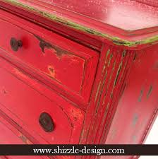 Shizzle Design This Years Little Red Dresser along with Lots of