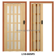 12mm pvc folding door sliding door with acrylic ps panel l10 005