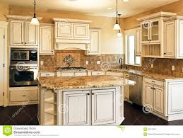 White Distressed Kitchen Cabinets Google Search Kitchen