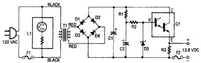 circuit diagram of regulated power supply circuit 13 8vdc 2a regulated power supply circuit circuit diagram world on circuit diagram of regulated power