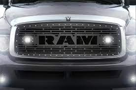 1 Piece Steel Grille For Dodge Ram 1500 2500 3500 2002 2005 Ram Led Light Pods Dodge Ram 1500 Dodge Ram Dodge