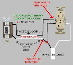 switch loop wiring switch image wiring diagram removing electrical switch and drywalling over it doityourself on switch loop wiring