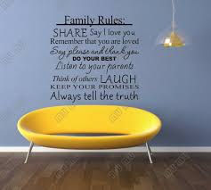 Small Picture 236 X 453 House Rules Love Each Other Hold Your Head High DIY