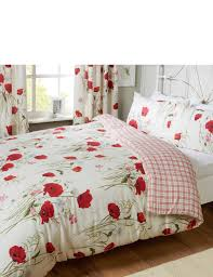 wild poppies quilt cover pillowcase set tap to expand