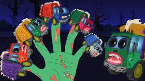 xe tải rác đáng sợ | gia đình ngón tay | bài hát trẻ em | Scary Garbage  Truck | Finger Family Song | Tổng hợp những bản nhạc tiếng Anh cho