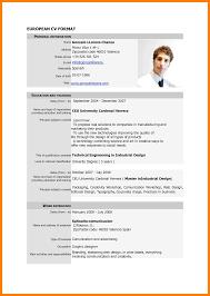 6 Standard Cv Form Download Cv For Teaching