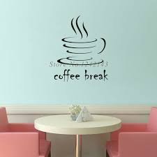 creative simple home. creative simple design diy wall stickers waterproof vinyl art decals coffee home decor removable