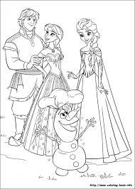 Small Picture Frozen coloring pages on Coloring Bookinfo