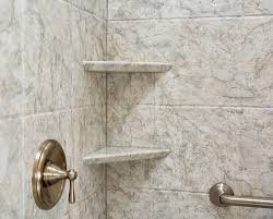 choose a unique finishing touch for your shower