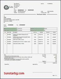 Standard Invoice Format Along With Invoice Line The Go Invoice