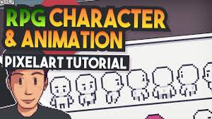 Pixel Character Template Character Animation Top Down Rpg Pixel Art Tutorial