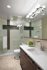 built in bathroom ceiling lights